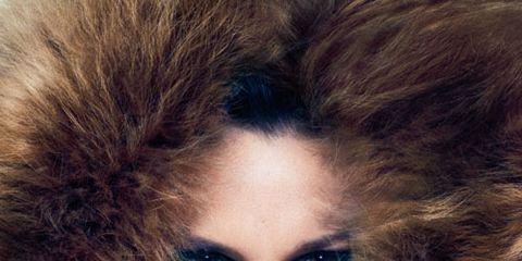 fur hood