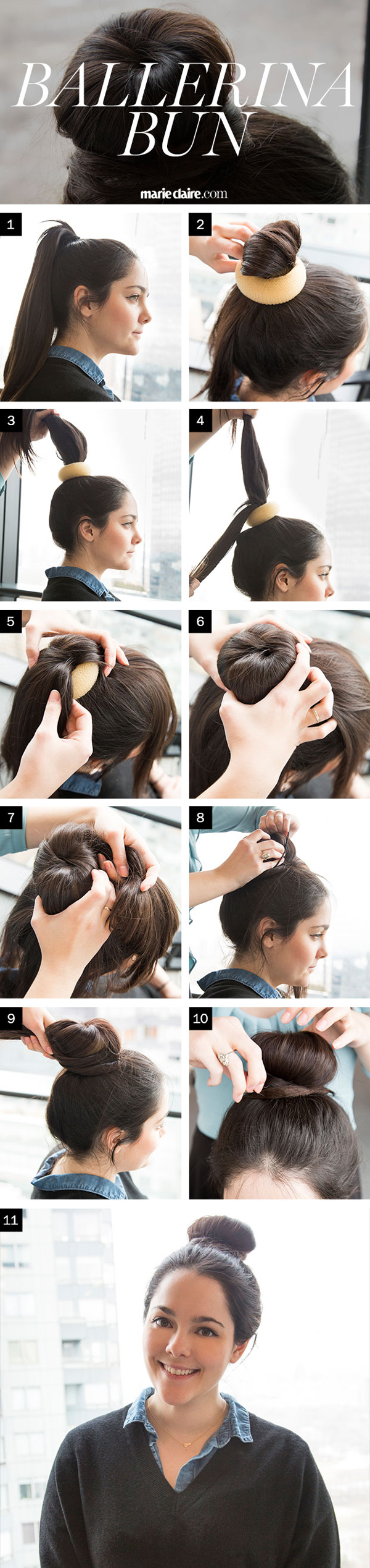 Hair How-To: The Perfect Ballerina Bun