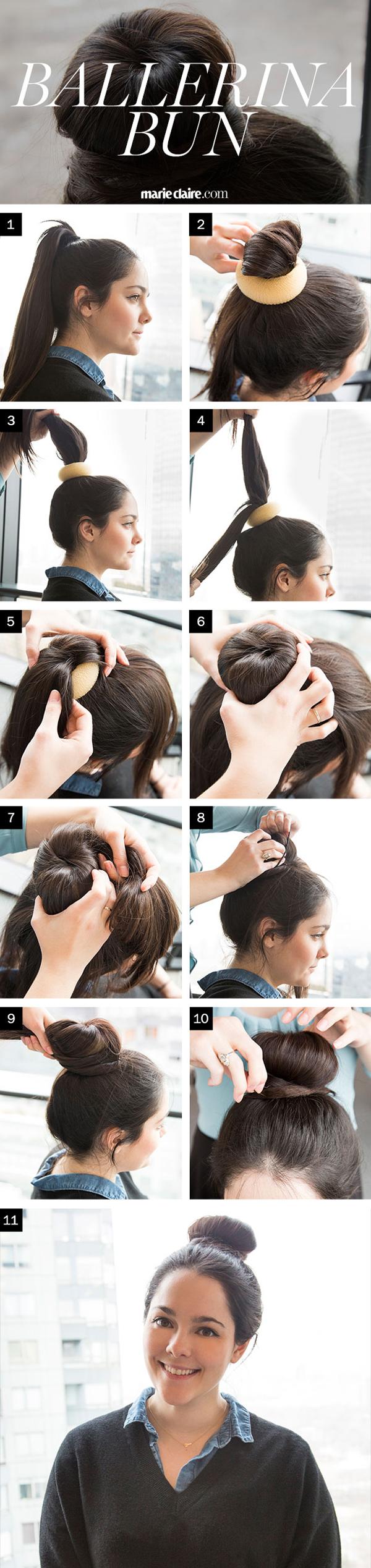 Hair how to the perfect ballerina bun baditri Gallery
