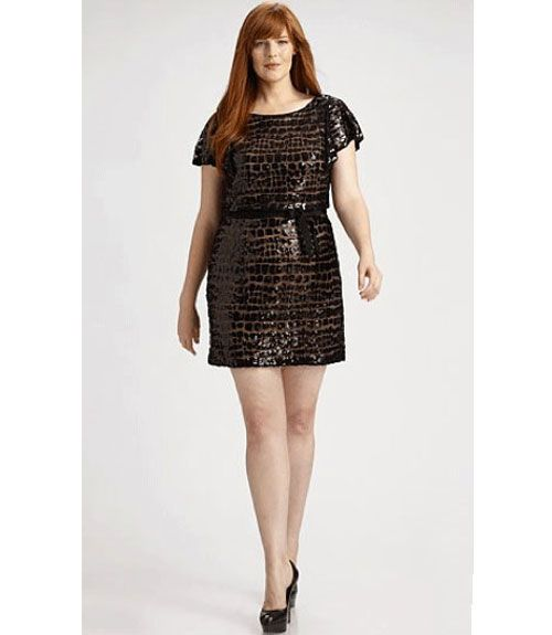 Kay Unger Phoebe Couture - Plus Size Holiday Dresses