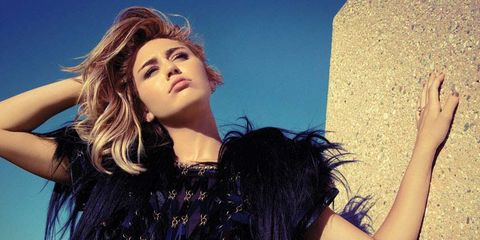 Miley Cyrus Cover Shoot September 2012