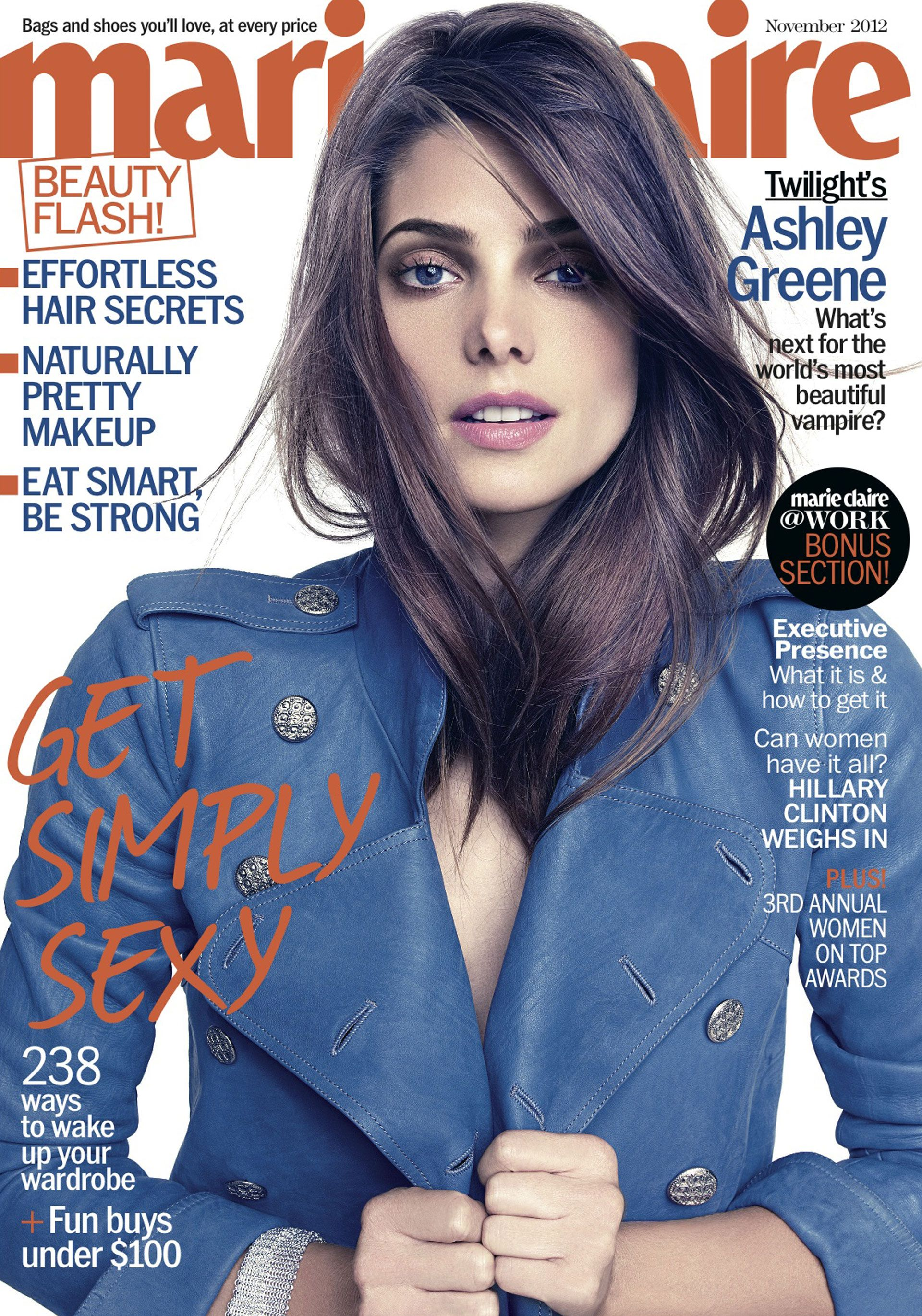 Ashley Greene Tells Marie Claire Fame Hasn't Changed Her