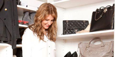 Clothing, Textile, Shoe, Outerwear, Bag, Style, Denim, Fashion, Carmine, Shelf,
