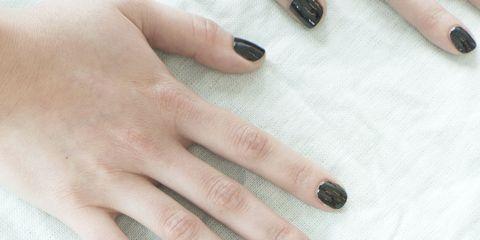 Finger, Nail, Colorfulness, Nail care, Nail polish, Visual arts, Manicure, Natural material, Paint, Cosmetics,