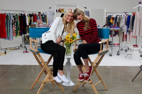 Exclusive: Zanna Roberts Rassi Talks Keds, Beauty & Style with Taylor Swift