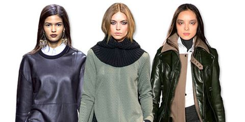 fall preview leather