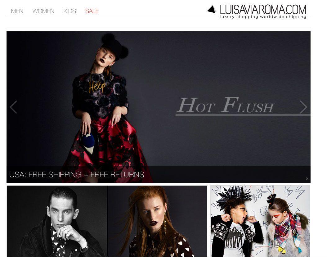 Group USA Dress Store Website