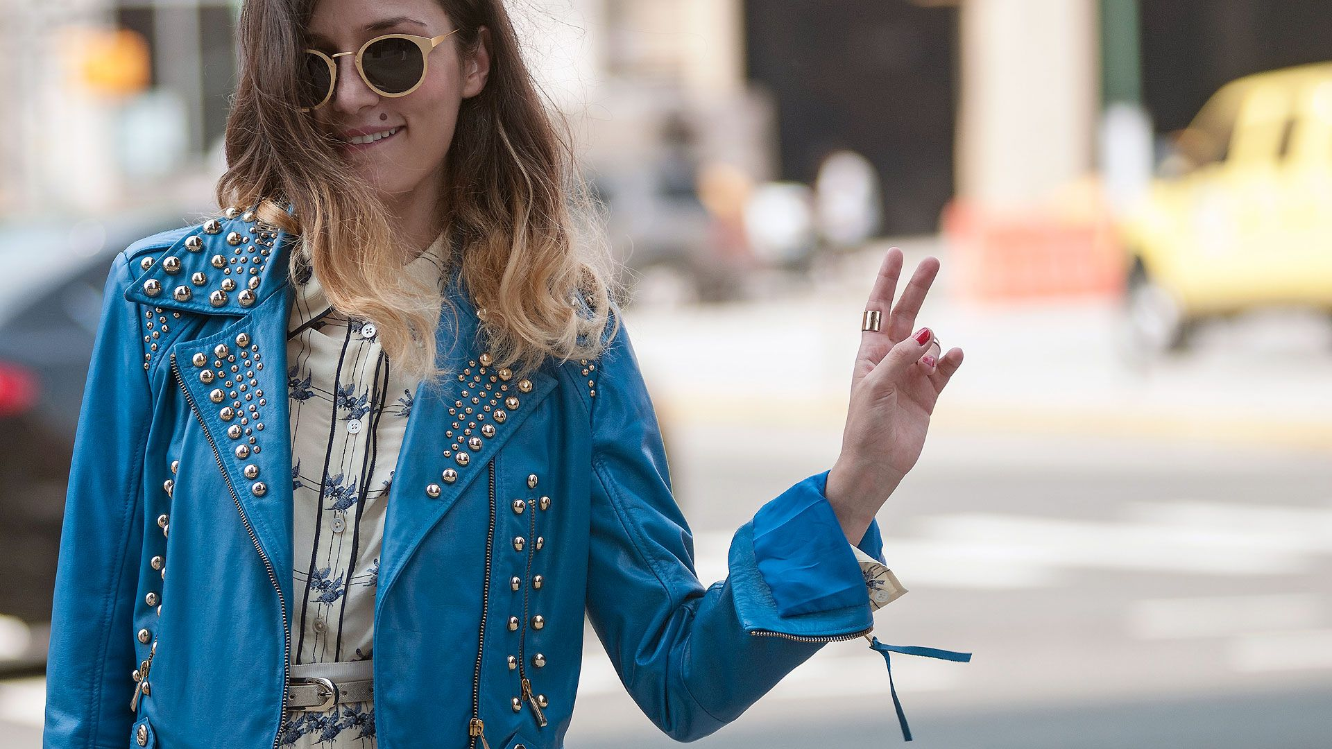 f6aade0f15 Street Style at Spring 2014 Fashion Week - NYFW Street Style Pictures