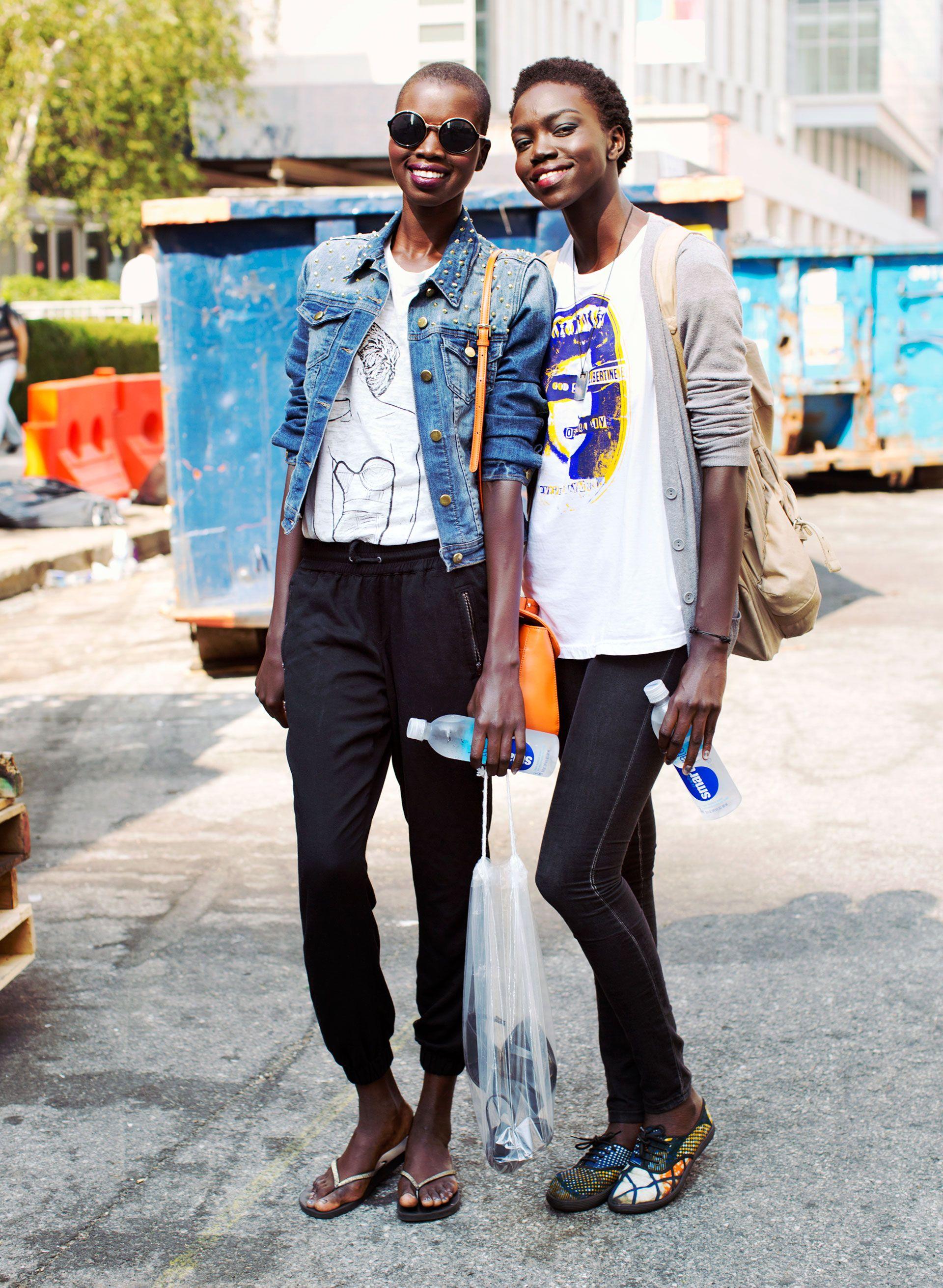 314bc8f981 Model Street Style at Spring 2014 Fashion Week - NYFW Model Street ...