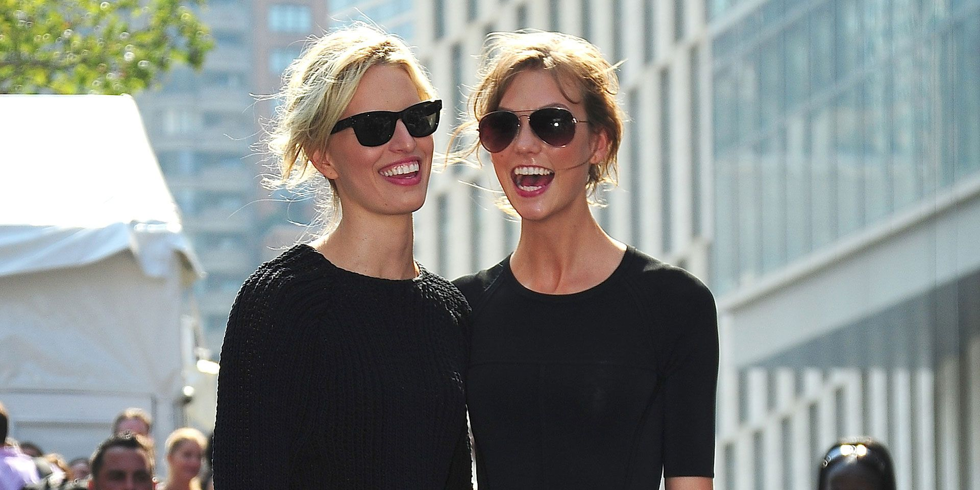 Front Row at NYC Spring 2014 Fashion Week