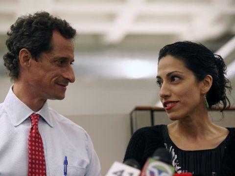 Huma and Anthony Weiner