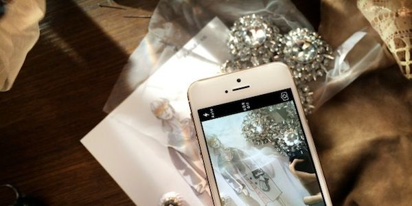Burberry Uses the iPhone 5s to Preview Its Spring Collection