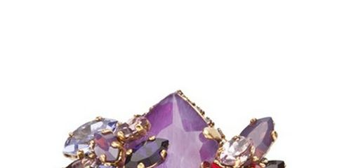 Jewellery, Purple, Violet, Lavender, Magenta, Fashion accessory, Body jewelry, Brooch, Natural material, Amethyst,