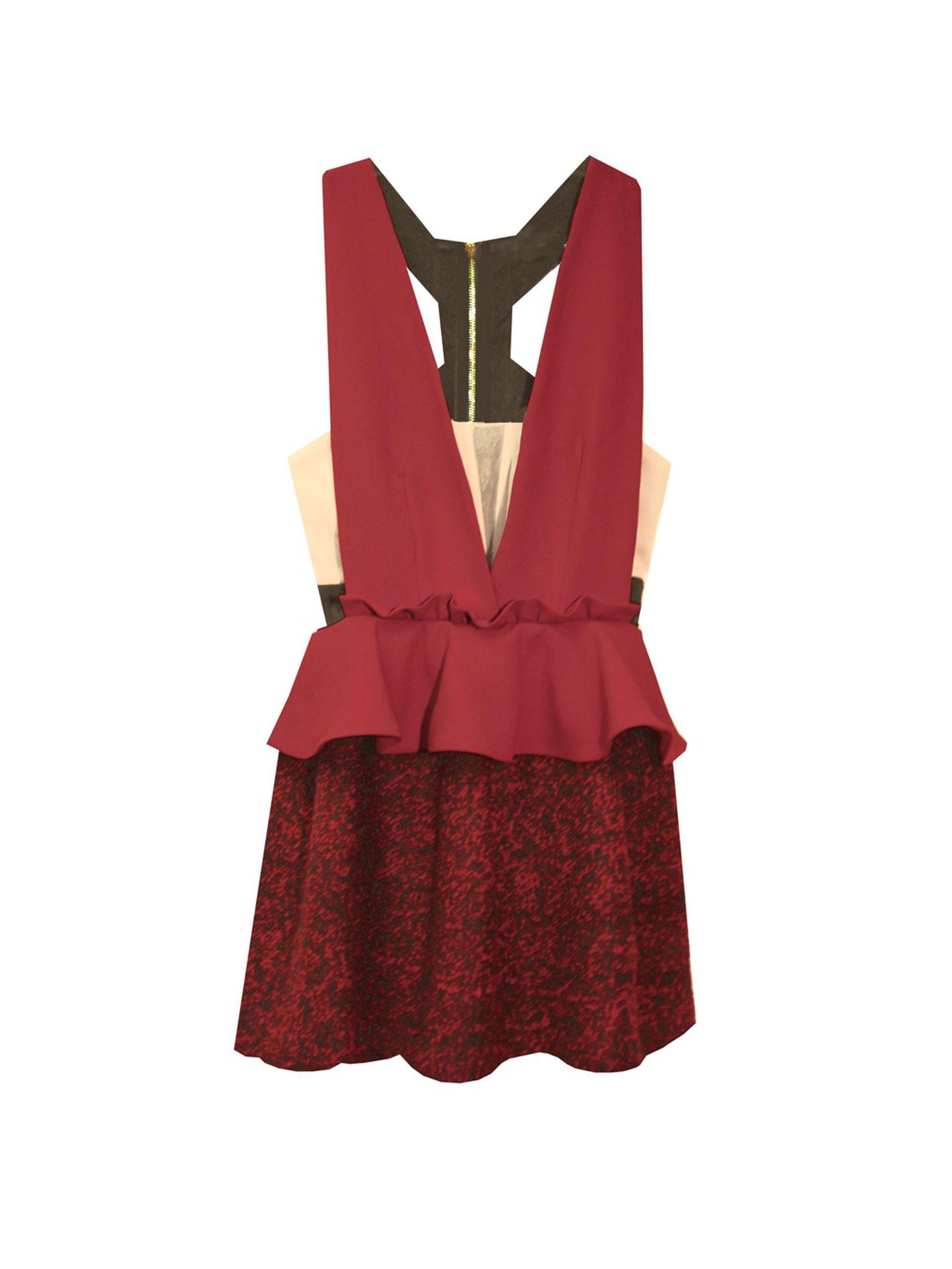 100 Party Dresses Under 500 Torch Tunik Women Burgundy Maroon L