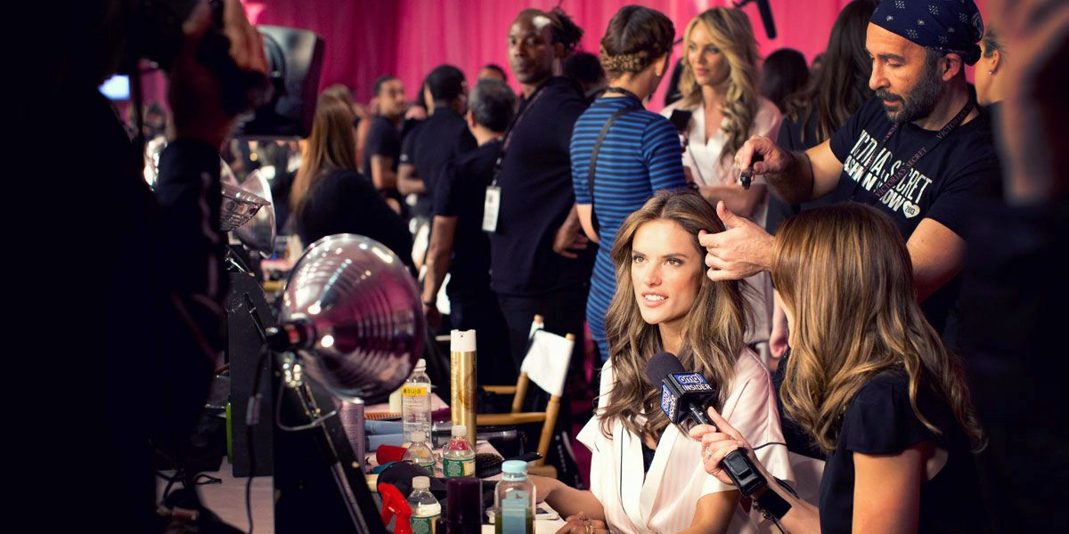 Behind the Scenes at the Victoria's Secret Fashion Show