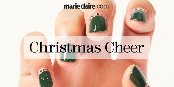 Nail Art How-To: Christmas Cheer
