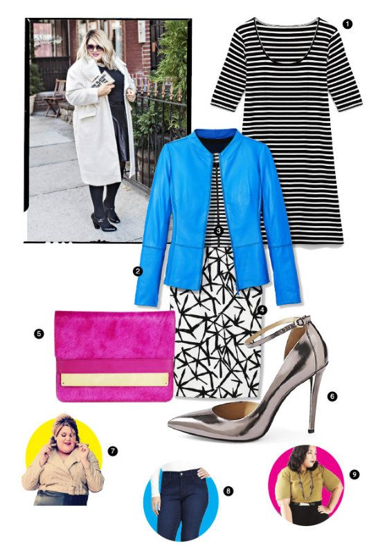 Big Girl in a Skinny World: Amp Up Your Wardrobe