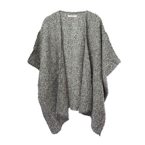 cuyana alpaca textured boucle cape