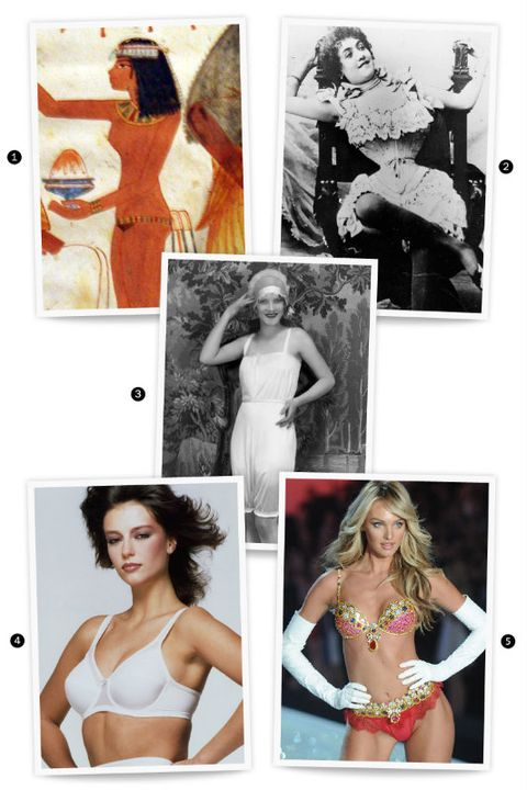 Panties in a Bunch: Lingerie Throughout History
