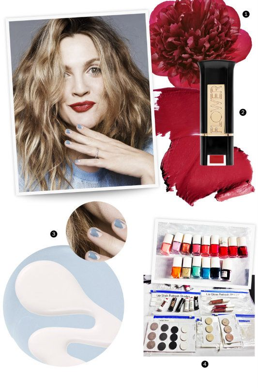 Drew Barrymore Behind the Cover: Beauty