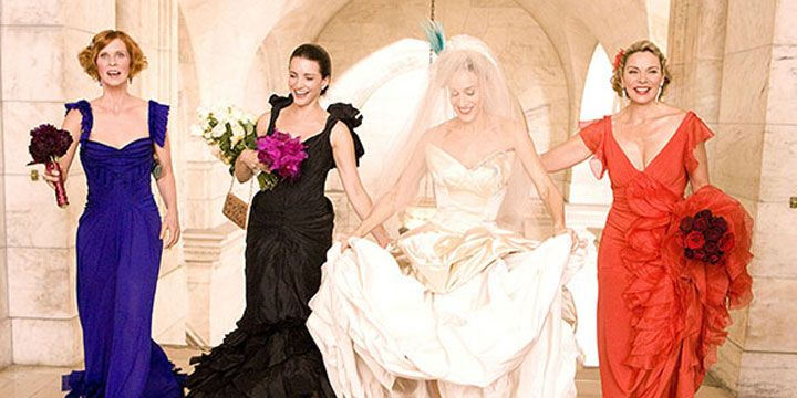 The 26 Best TV & Movie Wedding Dresses of All Time
