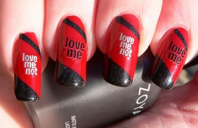 20 Anti Valentine S Day Nail Art Ideas Photos