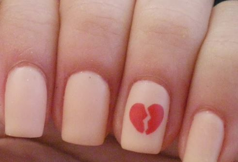 20 Anti Valentines Day Nail Art Ideas Photos