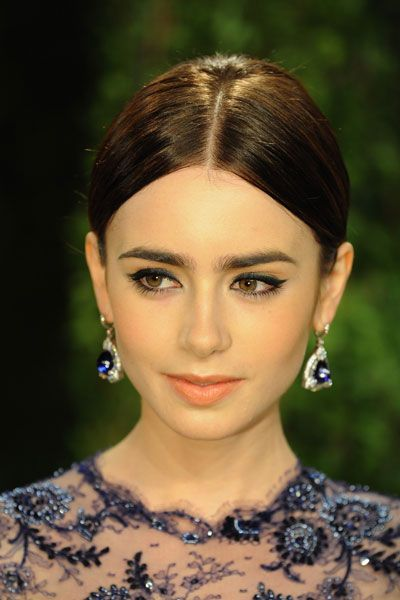 An Ode To Lily Collins And Her Eyebrows