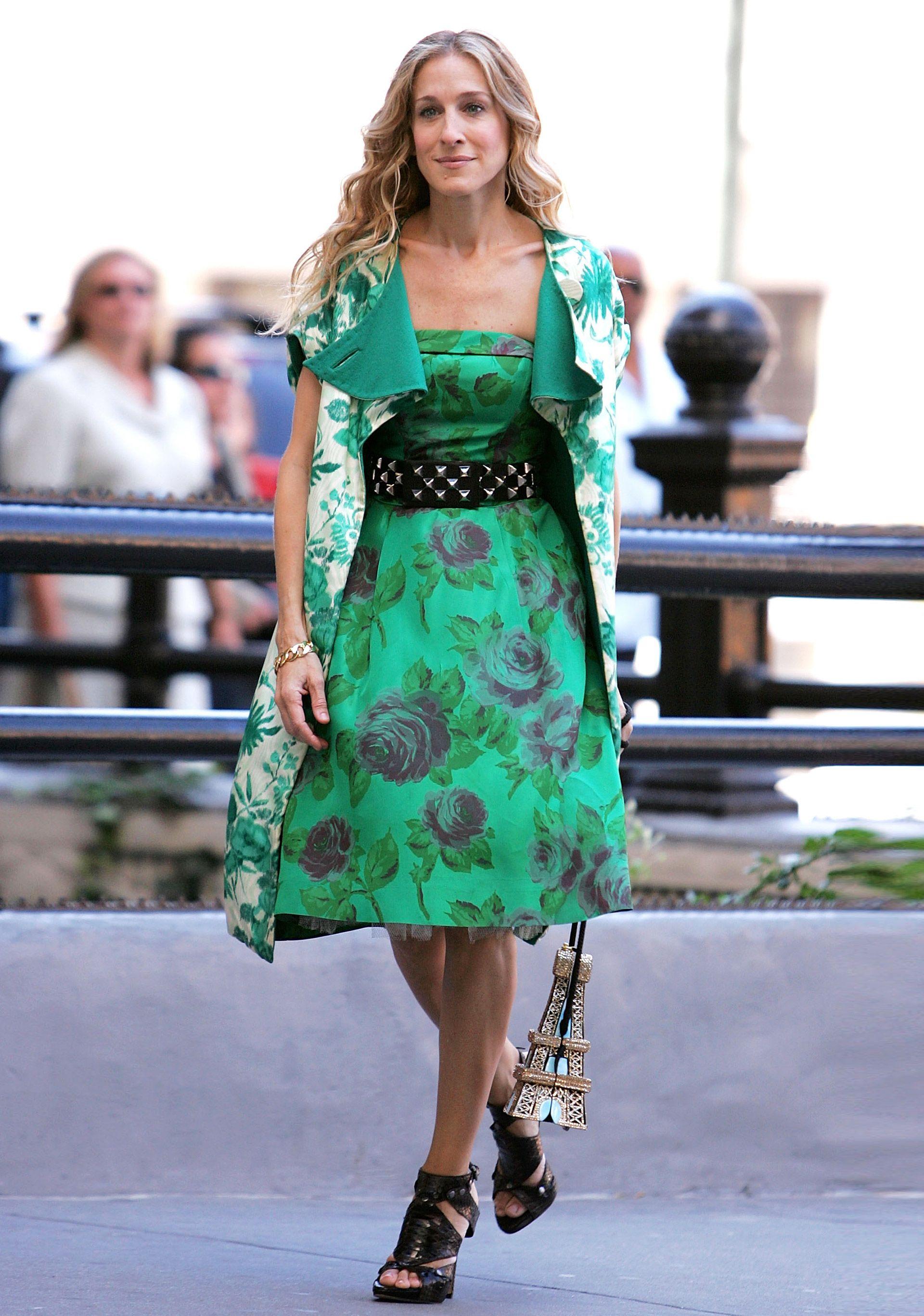 Carrie Bradshaw\'s Shoes - SJP Best Shoes