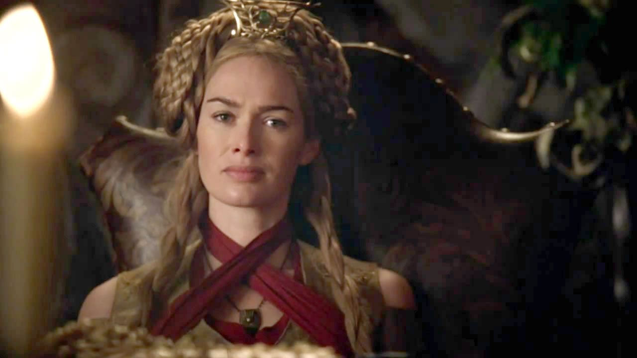 Image result for cersei with braids on the side