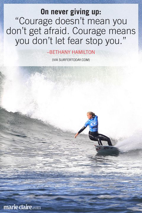 bethany hamiton woman surfer quote