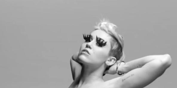 Miley Cyrus Bondage Video - Miley Cyrus Tongue Tied-5160