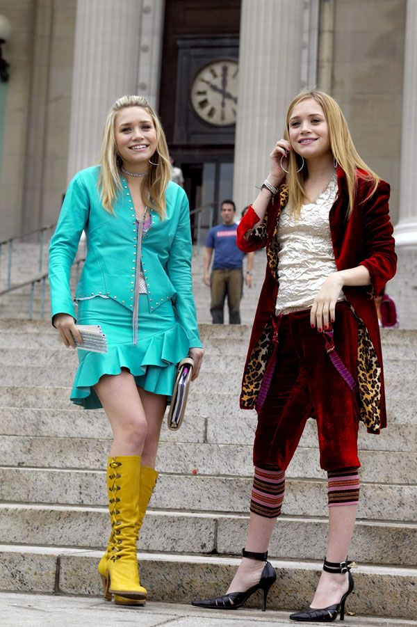 10 Years Later We Look Back On The Olsens New York Minute Style