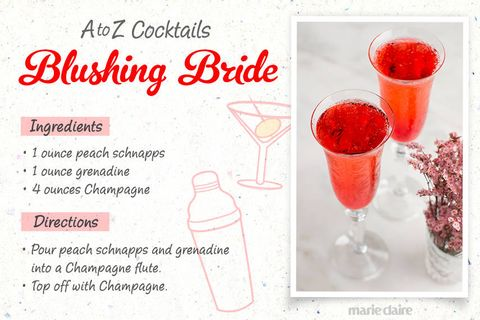 blushing bride drink recipe