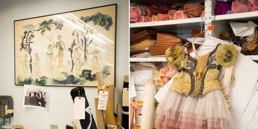 The Making of the A Midsummer Night's Dream Ballet Costumes