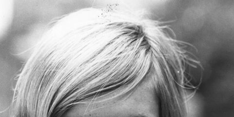 Finger, Lip, Hairstyle, Eyebrow, Eyelash, Style, Monochrome photography, Monochrome, Nail, Black-and-white,