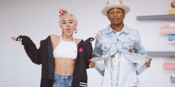 Watch Pharrell and Miley Cyrus' New Video for 'Come Get It Bae'