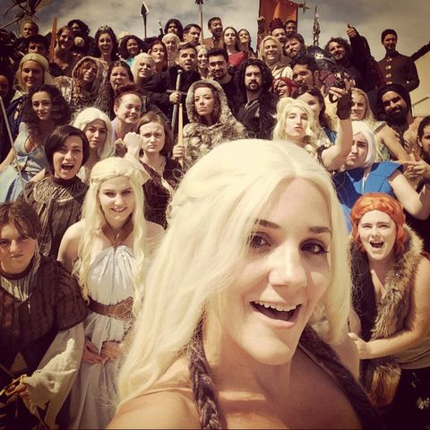 The Best Game of Thrones Selfie OF ALL TIME - Game of