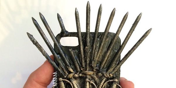 A Phone Case Fit For An Iron Throne