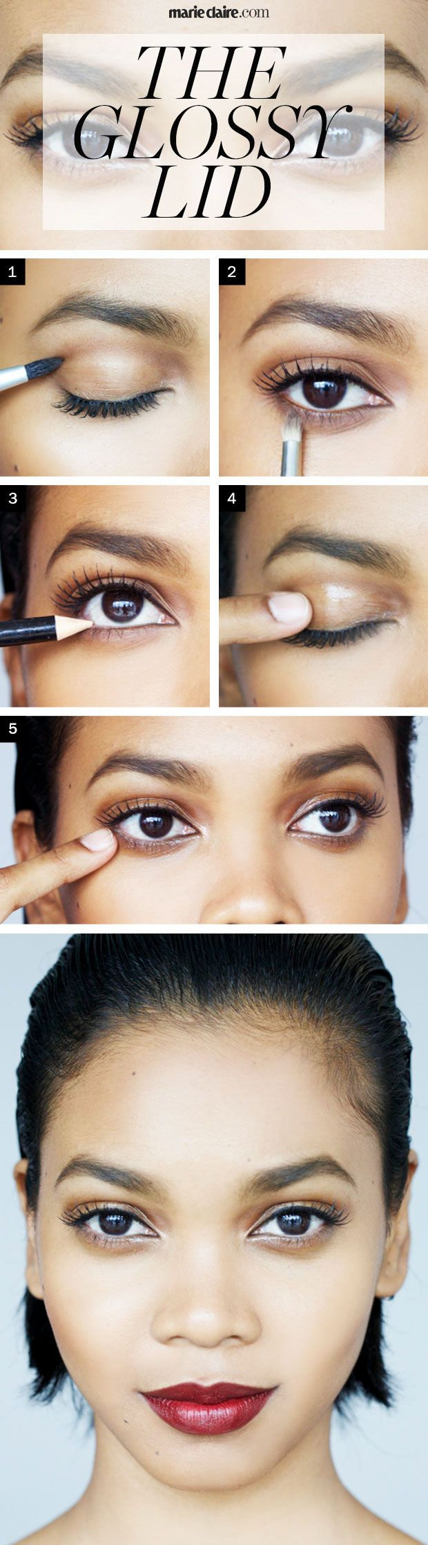 Makeup how to the glossy lid ccuart Gallery