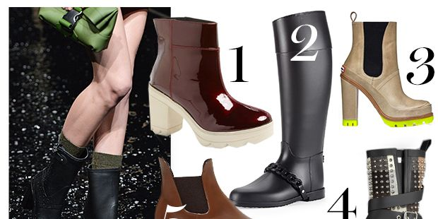 Walking on Water: 11 Rain Boots That Don't Look Like Such