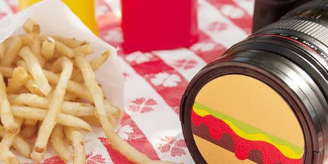 Yellow, Red, Fried food, Food, French fries, Amber, Colorfulness, Carmine, Potato, Deep frying,