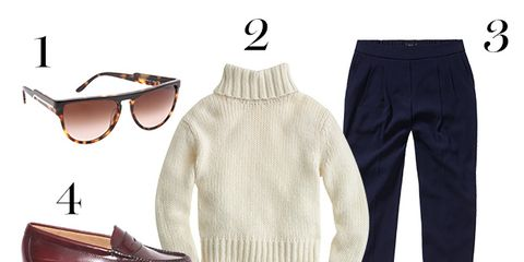 Product, Brown, Sleeve, Textile, White, Collar, Pattern, Fashion, Sunglasses, Sweater,