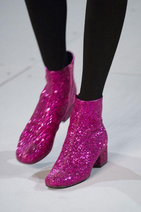 7866ddee885 How to DIY Saint Laurent's Glitter Boots