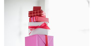 Red, Pink, Magenta, Carmine, Maroon, Present, Ribbon, Cylinder, Gift wrapping, Paper,