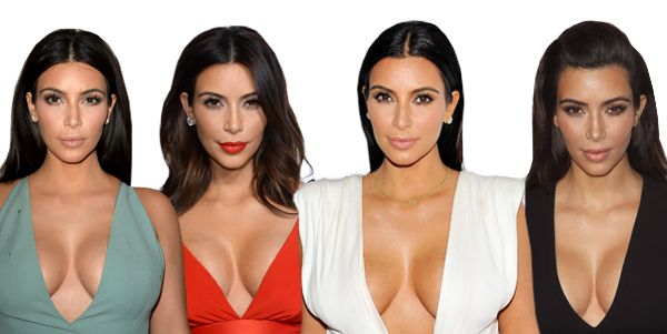 How to Get Kim Kardashian's Gravity-Defying Cleavage