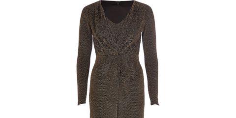 Sleeve, Style, Dress, Pattern, Black, One-piece garment, Fashion design, Day dress, Pattern,