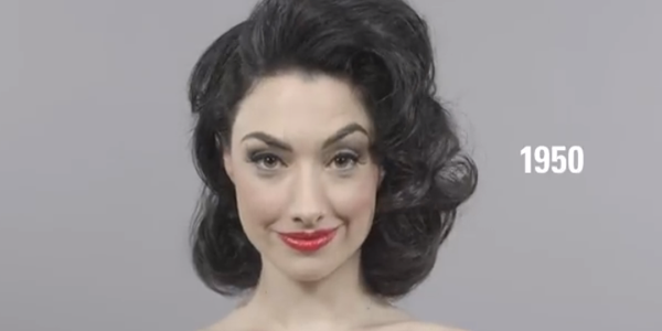 Watch 100 Years of Beauty in 1 Minute