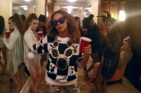Beyonce's New Video Is a Glorious, Pantsless, Hotel Room Party