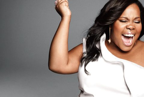 amber riley glee feature